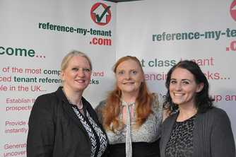 Image of Vivienne Nelson, Director of refernce-my-tenant.com, Lisa Haynes, Referencing Manager, and Jessica Nelson, Account Handler